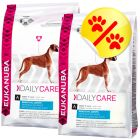Dubbelpack Eukanuba Daily Care Sensitive Joints