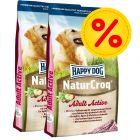 Dubbelpack Happy Dog NaturCroq Active