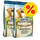 Dubbelpack Happy Dog NaturCroq Balance
