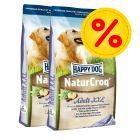 Dubbelpack Happy Dog NaturCroq XXL