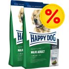 Dubbelpack Happy Dog Supreme Fit & Well Adult Maxi