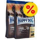Dubbelpack Happy Dog Supreme Sensible Canada