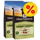 Dubbelpack Hill's Canine Ideal Balance Adult Chicken & Rice