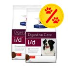 Dubbelpack Hill's Prescription Diet Canine - i/d