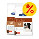 Dubbelpack Hill's Prescription Diet Canine - j/d