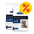 Dubbelpack Hill's Prescription Diet Feline z/d