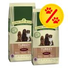 Dubbelpack James Wellbeloved Adult Turkey & Rice