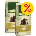Dubbelpack James Wellbeloved Junior Lamb & Rice