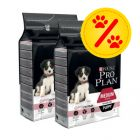 Dubbelpack PRO PLAN Medium Puppy Sensitive Skin OPTIDERMA