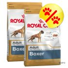 Dubbelpack Royal Canin Boxer Adult