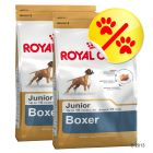Dubbelpack Royal Canin Boxer Junior