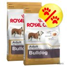 Dubbelpack Royal Canin Bulldog Adult