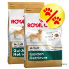 Dubbelpack Royal Canin Golden Retriever Adult