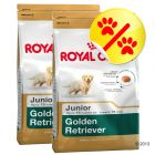 Dubbelpack Royal Canin Golden Retriever Junior