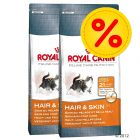 Dubbelpack Royal Canin Hair & Skin 33