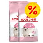 Dubbelpack Royal Canin Kitten 36