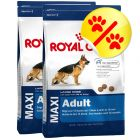 Dubbelpack Royal Canin Maxi Adult