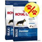 Dubbelpack Royal Canin Maxi Junior