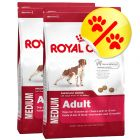 Dubbelpack Royal Canin Medium Adult
