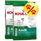 Dubbelpack Royal Canin Mini Adult