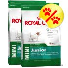Dubbelpack Royal Canin Mini Junior
