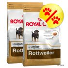 Dubbelpack Royal Canin Rottweiler Junior