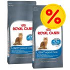 Dubbelpack: Royal Canin Royal Canin Light 40