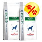 Dubbelpack Royal Canin Veterinary Diet - Satiety Support