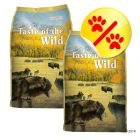 Dubbelpack Taste of the Wild - High Prairie Canine