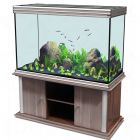 Ensemble aquarium/sous-meuble Aquatlantis kit Evasion 127x50
