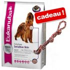 Eukanuba Care/Breed 12 à 15 kg + corde double multicolore !