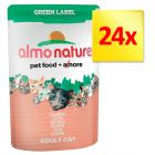 Fai scorta! Almo Nature Green Label 24 x 55 g