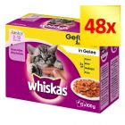Fai scorta! Whiskas Junior buste 48 x 100 g