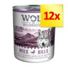 Fai scorta! Wolf of Wilderness Adult 12 x 800 g