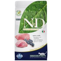Farmina N&D Grain Free Adult Cat Agnello e Mirtillo