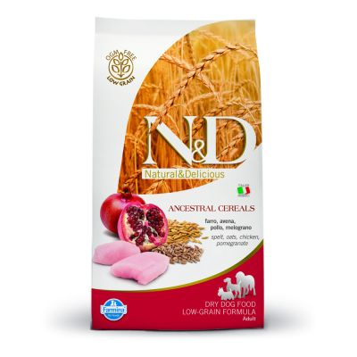 Farmina N&D Low Grain Adult Medium Pollo e Melograno