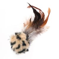 Feather Ball with Microchip Squeak