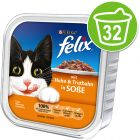 Felix Chunks in Gravy 32 x 100g