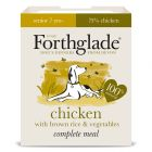 Forthglade Complete Meal Chicken with Brown Rice Senior 7+ Wet Dog Food