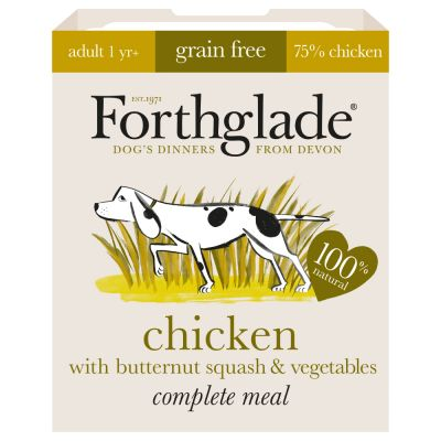 Forthglade Complete Meal Grain-Free Adult Dog - Chicken