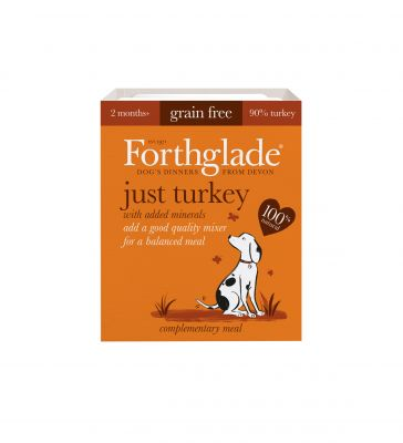 Forthglade Just 90% Complementary Meal - Turkey