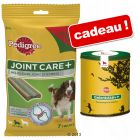 Friandises Pedigree Joint Care + boîte à biscuits offerte