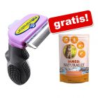 FURminator deShedding Tool + 700 g IAMS Naturally Cat Adult, łosoś, gratis!