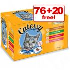 100g Catessy Pouches - 76 + 20 Free!*