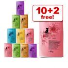85g Catz Finefood Mixed Pack - 10 + 2 Free!*