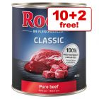 800g Rocco Classic Wet Dog Food - 10 + 2 Free!*
