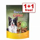 150g Rocco Cubes or 200g Rocco Chings Double Dog Treats - 1 + 1 Free!*