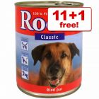 800g Rocco Wet Dog Food - 11 + 1 Free!*