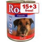 800g Rocco Wet Dog Food - 15 + 3 Free!*