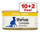 75g thrive Complete Wet Cat Food - 10 + 2 Free!*
